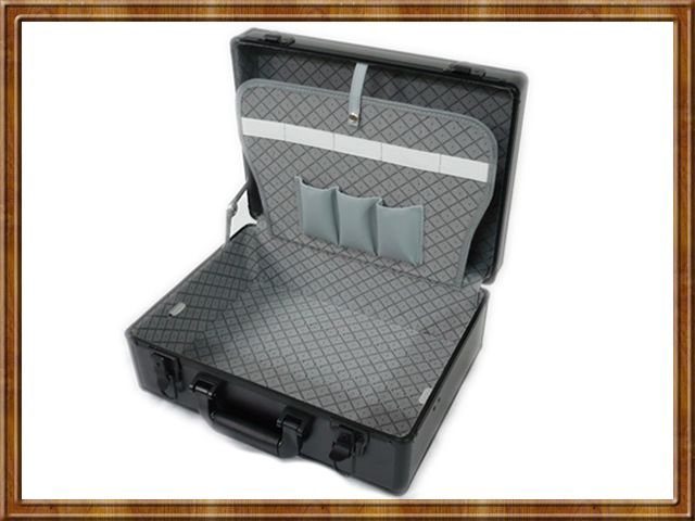 Barber Tool Box : Hair Stylist Barber Aluminum Mobile Tool Accessory STORAGE Tote CASE ...